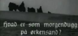 Gammal svartvit filmbild