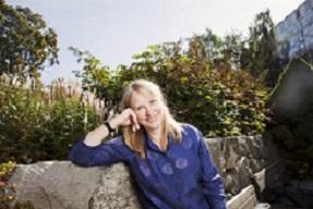 Carin Kjellman. Felicia P2, Sveriges Radio. foto: Mattias Ahlm/Sveriges Radio.