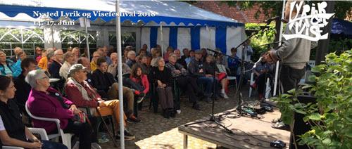 Nysted Lyrik- og visefestival 2019 @  Emil Aarestrups mindestue og museum | Nysted | Danmark