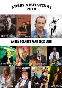 Aneby visfestival 2018 @ Aneby folkets park | Jönköpings län | Sverige