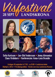 Visfestival Landskrona 2019 @ Landskrona teater | Landskrona | Skåne län | Sverige