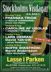 Stockholms visdagar 2019 @ Lasse i parken