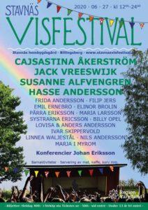 Stavnäs visfestival 2020 @ Stavnäs bygdegård - Billingsberg Hembygdsgården